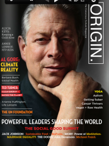 Origins Magazine cover